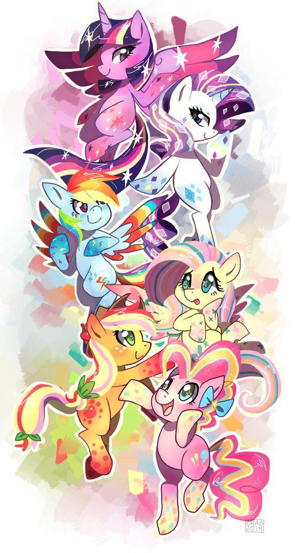 Rainbow Power!! by ChocoChaoFun.deviantart.com on @deviantART