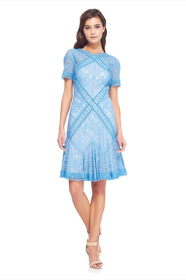 AVS17129MX  Sukienka wizytowa  #suknia wieczorowa #wizytowa #tadashishoji #koronkowa #fajna  #fashion #dress #wedding #maidofhonor
