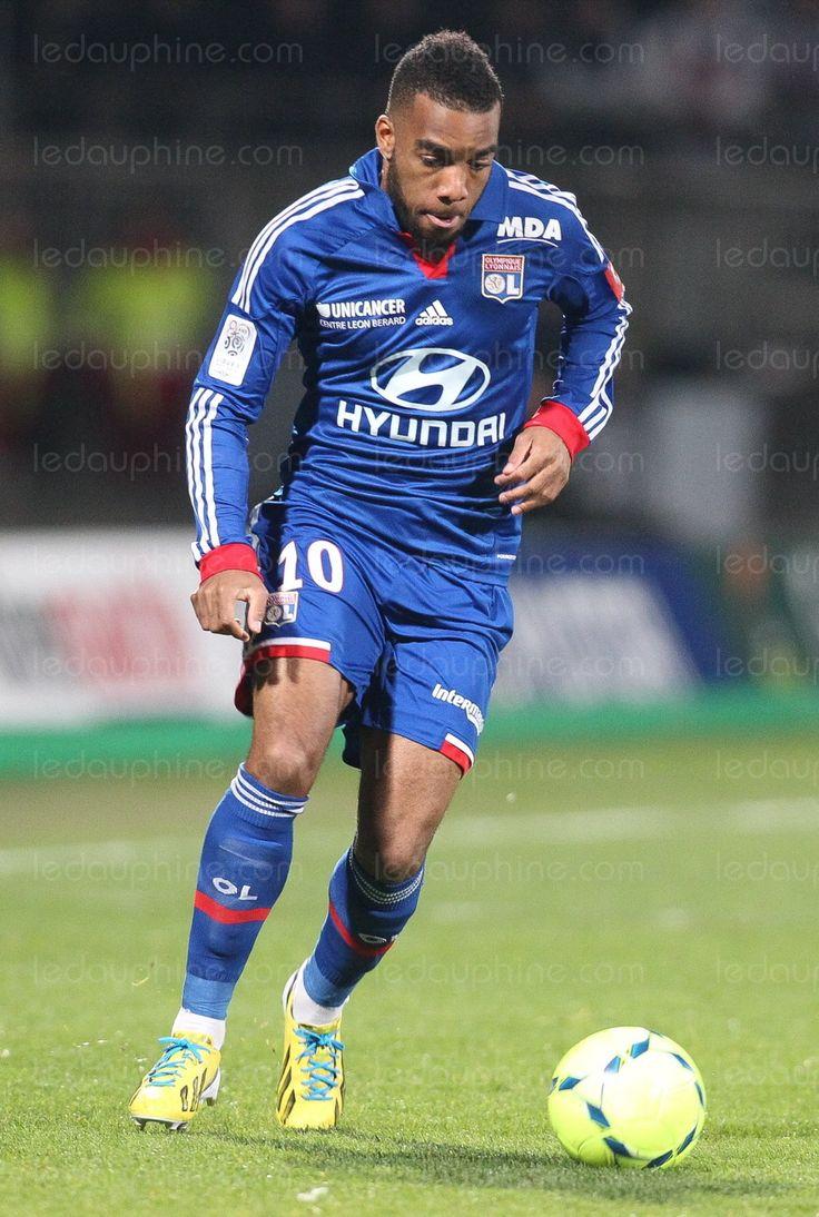 Alexandre Lacazette of Olympique Lyonnais