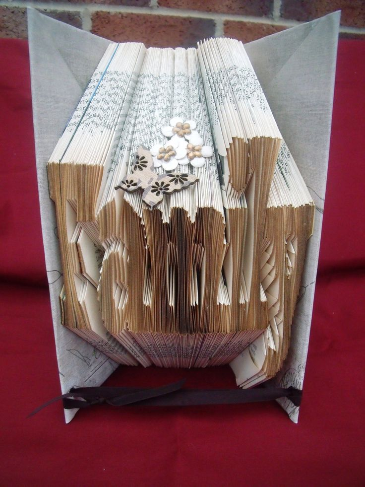 Book Folding Art - Unique Gift - Family by CreationsByMEx on Etsy