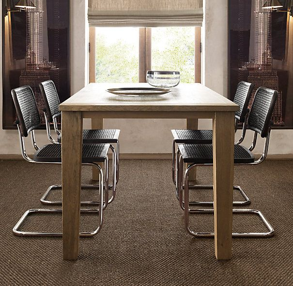 Parsons Tapered Leg Table  Conference Space | G Office | Pinterest | Restoration  Hardware, Restoration And Hardware