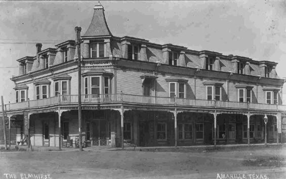 Elmhirst Hotel City Hall Amarillo 1912 | Texas of Old ... - photo#10