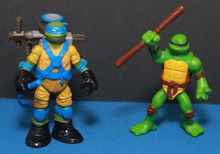 Teenage Mutant Ninja Turtle Figures - Qty. 2