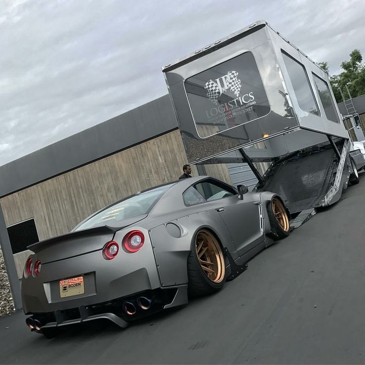 #Nissan #GTR_R35 #WideBody #Slammed #Modified #Boden