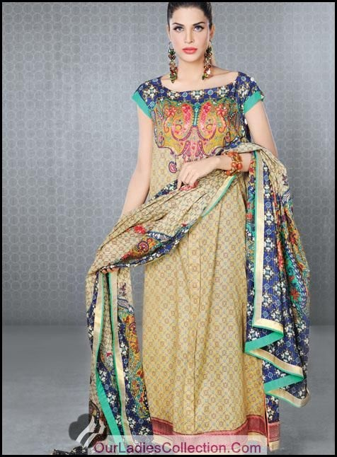 Faiza Samee Designer Eid Lawn Collection 2012 By Alkaram For Girls ~ Pakistani Fashion,Pak Models,Bridals Fashion,Pak Designers,Beauty Tips,Jewellery Styles,Men Fashion