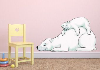 Polar Bear Wall Decals from My-Wall-Decal.com - your modern online supplier for home decorating. The decals for kids are a perfect decoration for walls and furniture.