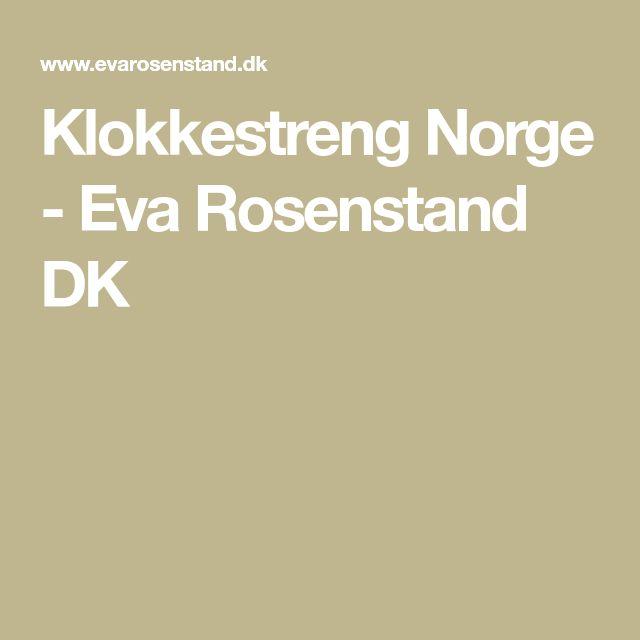 Klokkestreng Norge - Eva Rosenstand DK