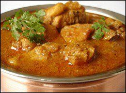 Handi Chicken Curry is my all time favourite. The Handi is a traditional heavy bottomed pot. It is made of heavy materials so that the food can be slow cooked. It's a creamy (not sweet!!) dish which is made using cashewnuts and yogurt. it is best enjoyed with Naan, chappatis or rice.