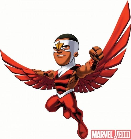 Marvel Super Hero Squad Falcon