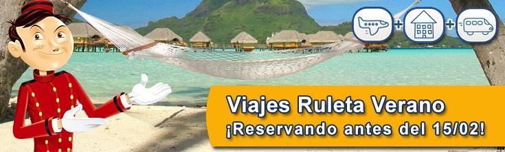 Si quieres irte de vacaciones al Caribe con una ganga disfruta de nuestros Ofertones de Hotel Ruleta y vete al caribe este verano en hoteles de 4, 5 y 5 estrellas Lujo. Reserva tu viaje antes del 15/02/13. #TodoIncluido
