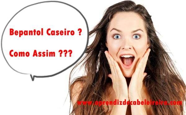 Bepantol Líquido Caseiro - Como Fazer Bepantol em Casa http://www.aprendizdecabeleireira.com/2015/07/bepantol-liquido-caseiro-como-fazer.html
