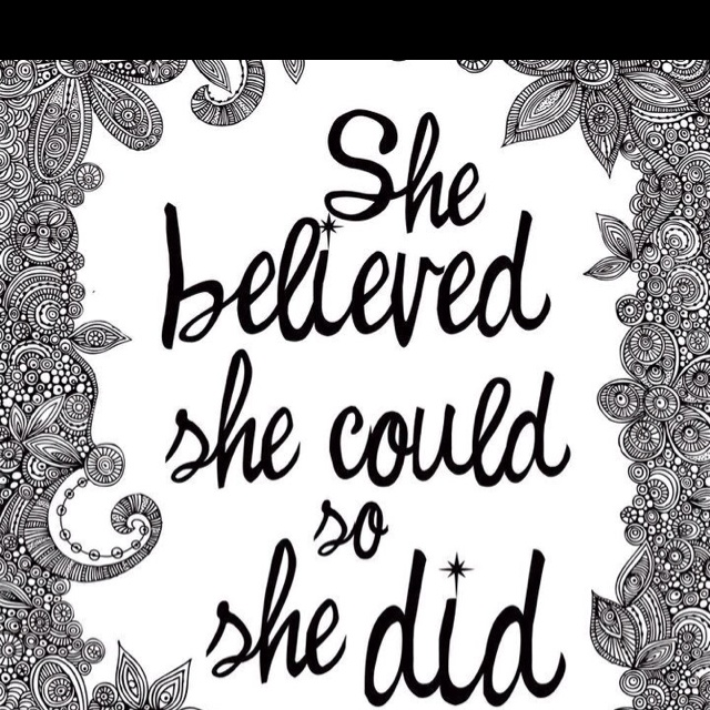 I just remember this quote from the movie Matilda.....which is one of my ALL TIME FAVORITE movies.