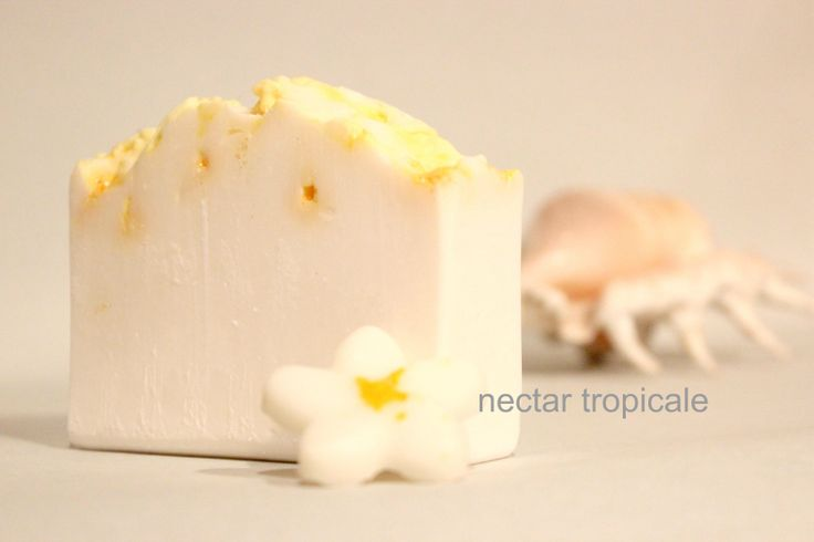 tropicale - the Islands come to you in this coconutty fruity handmade soap mmmmmm www.nectarbodyandbath.com made in NZ