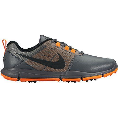 Nike Herren Explorer Lea Golfschuhe, Gris / Negro / Naranja (Dark Grey/Black-Total Orange), 42 EU - http://on-line-kaufen.de/nike/42-eu-nike-herren-explorer-lea-golfschuhe-3