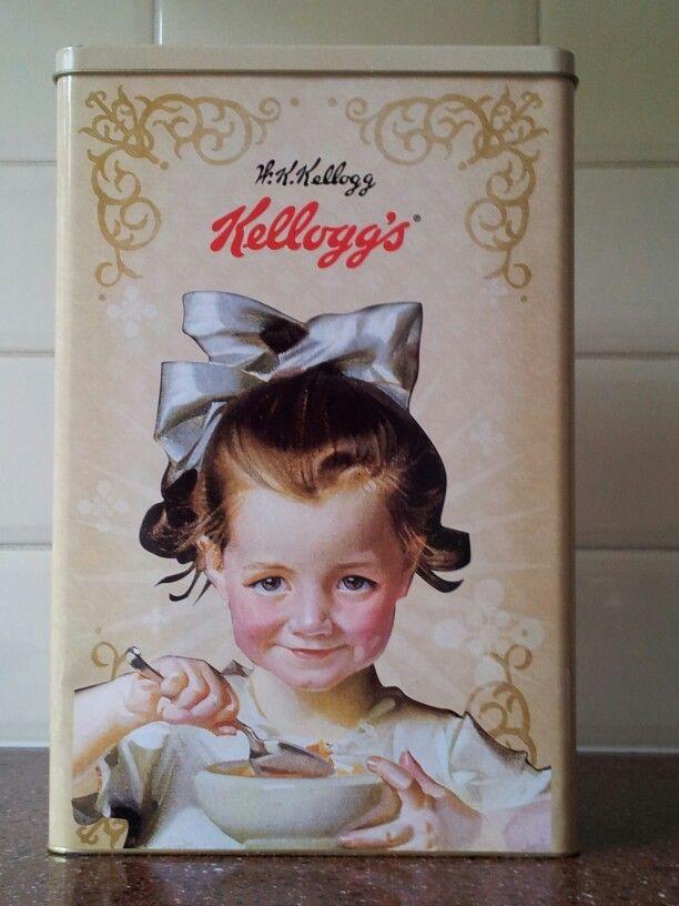 Kellogg's Vintage Tin