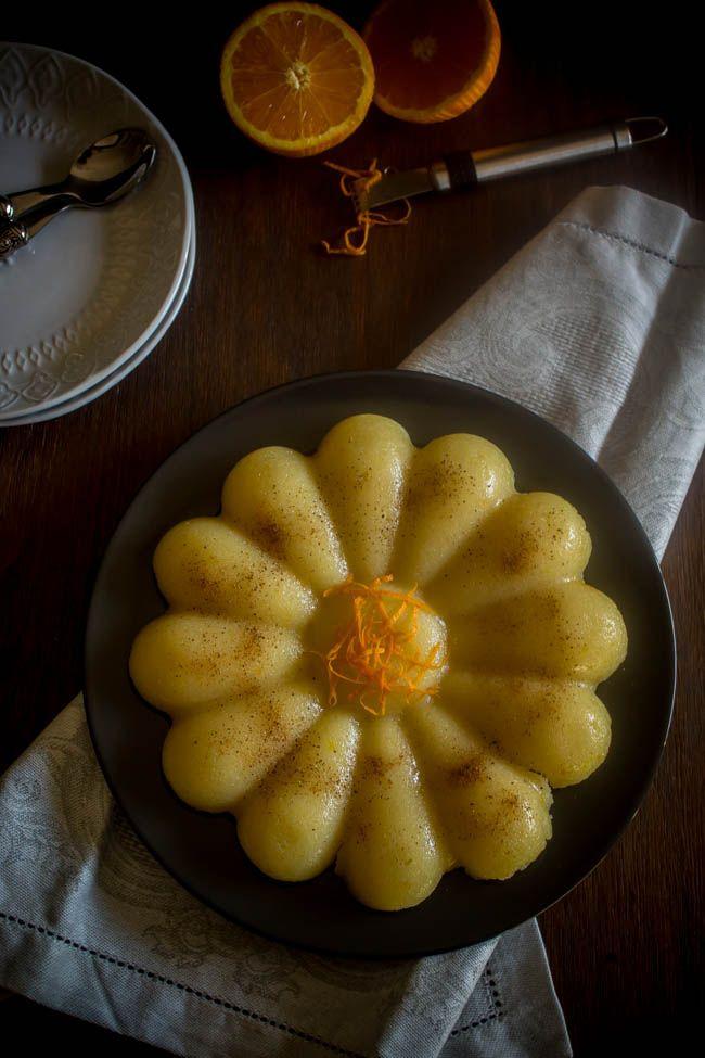 Χαλβάς σιμιγδαλένιος με πορτοκάλι - Myblissfood.gr