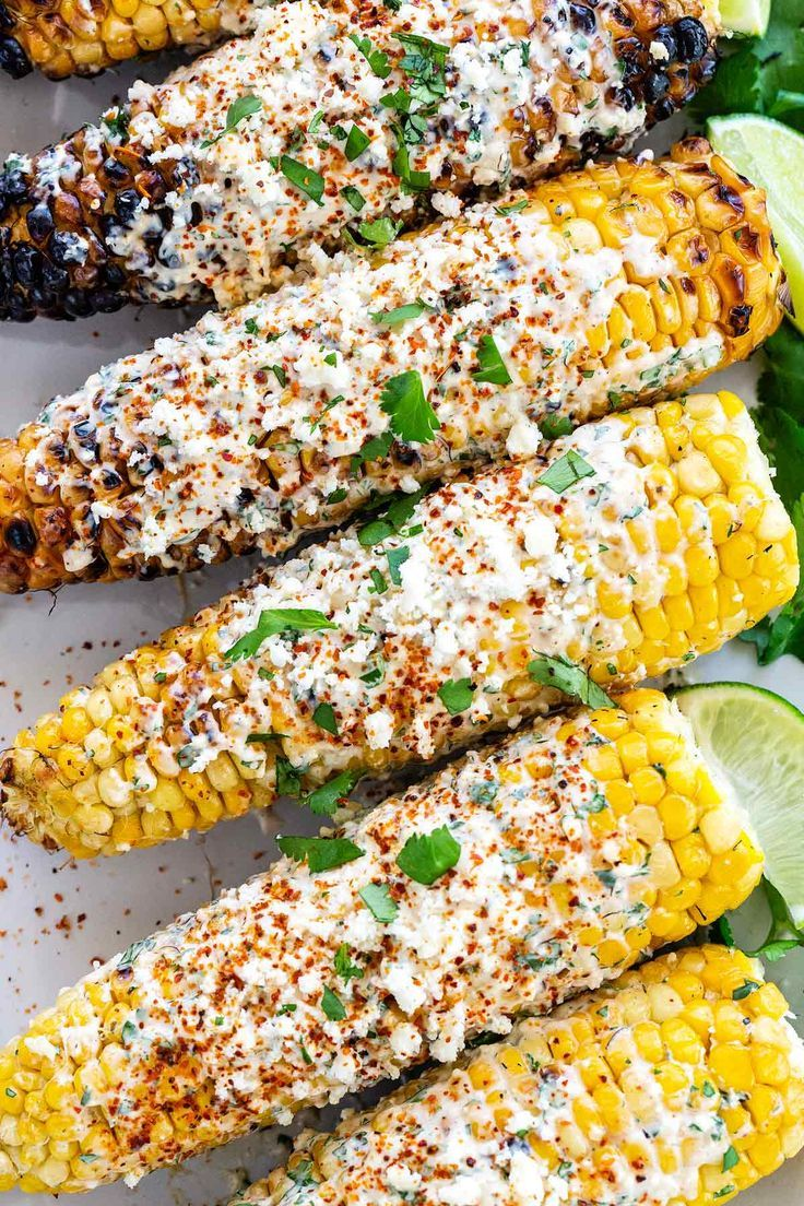 Elotes (Grilled Mexican Street Corn)   – Cookout