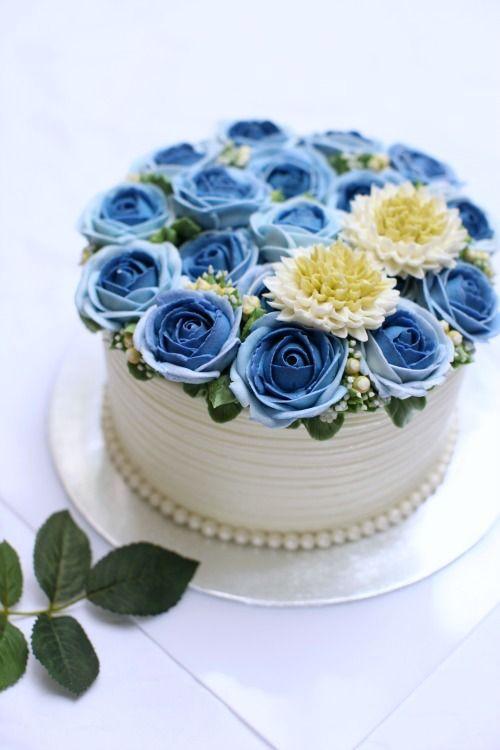 masam manis: Blue rose