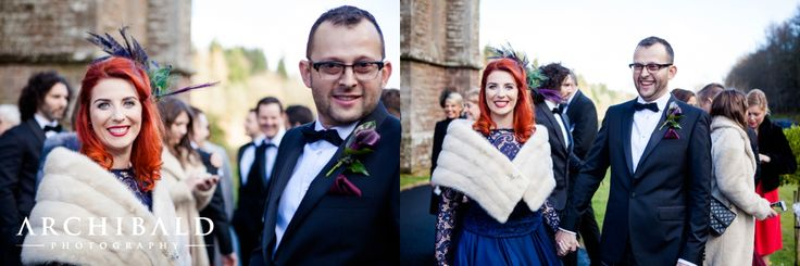Drumtochty Castle Wedding photography by Archibald Photography