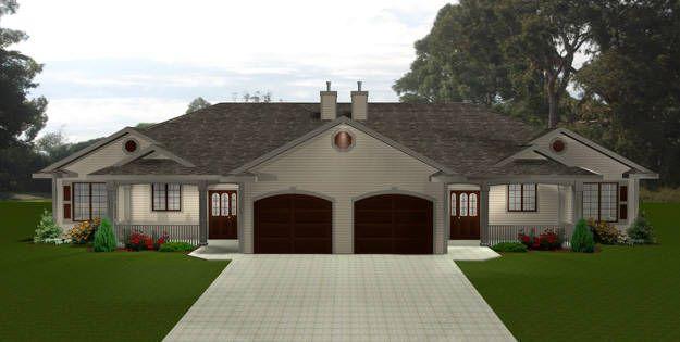 Duplex Plan 2011547 - Edesignsplans.ca
