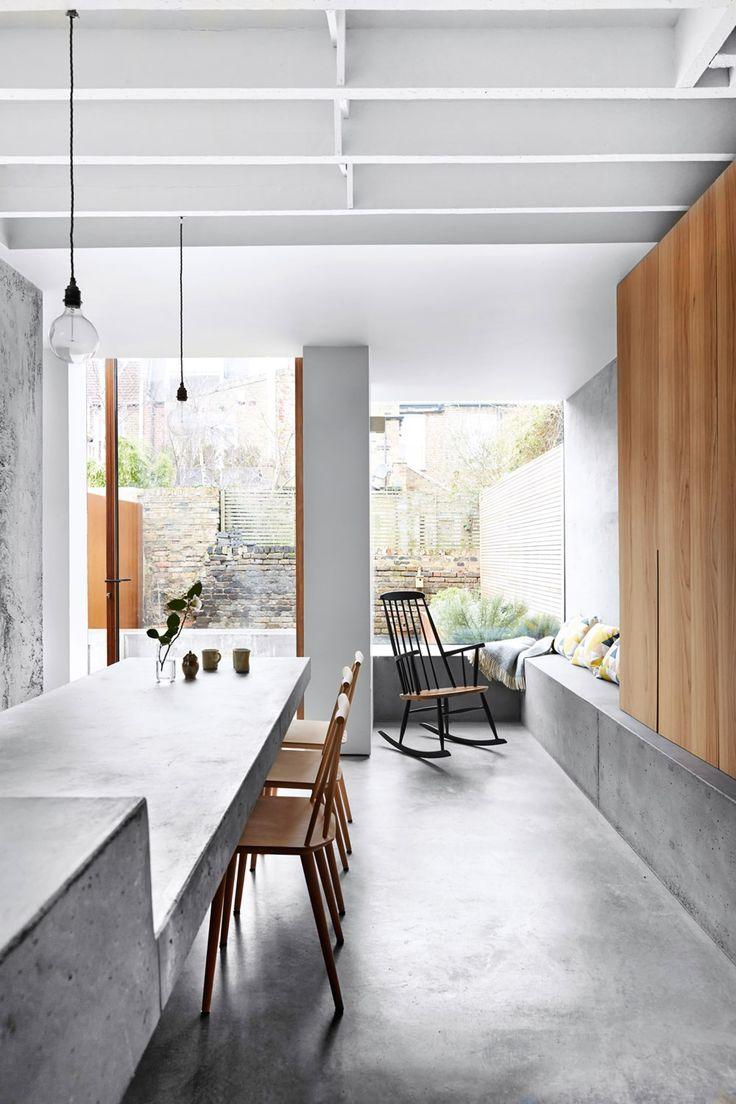 Røft kjøkkentilbygg
