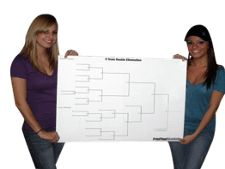 Printable Ladder Golf Tournament Brackets Single & Double Elimination