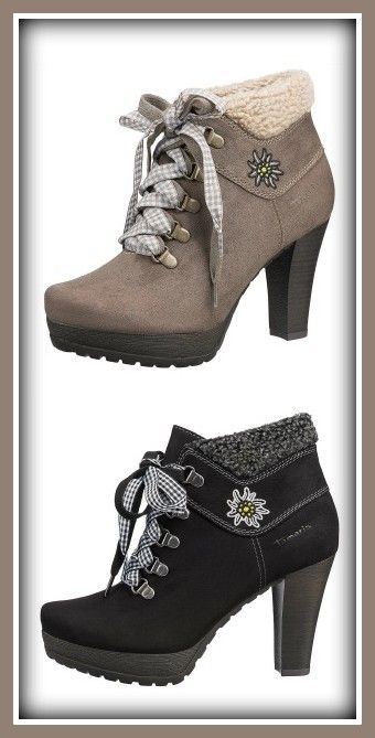 Tamaris Stiefeletten #new #oktoberfest | Inspiration for raredirndl.com