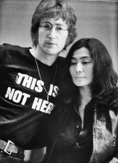 This is not here...John and Yoko