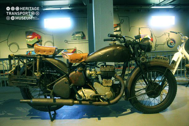 Take a look at a renowned BSA (Birmingham Small Arms) Motorcycle. The brand of bikes started in 1930 and lasted till 1970!
