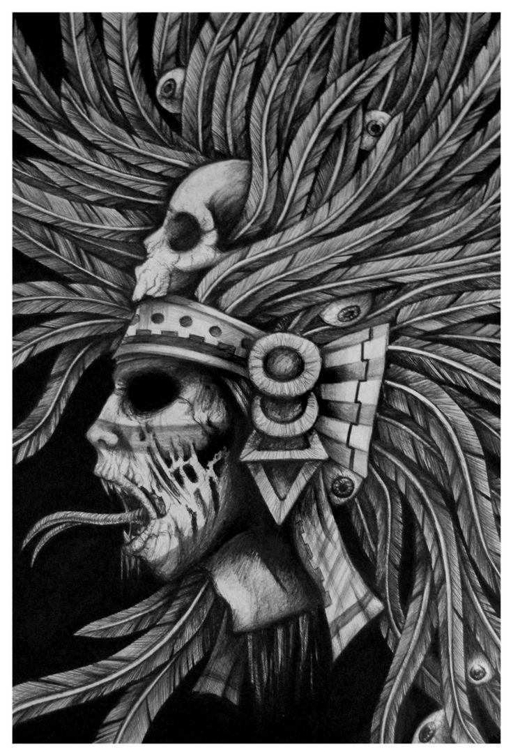 Tezcatlipoca by marffi89.deviantart.com on @deviantART