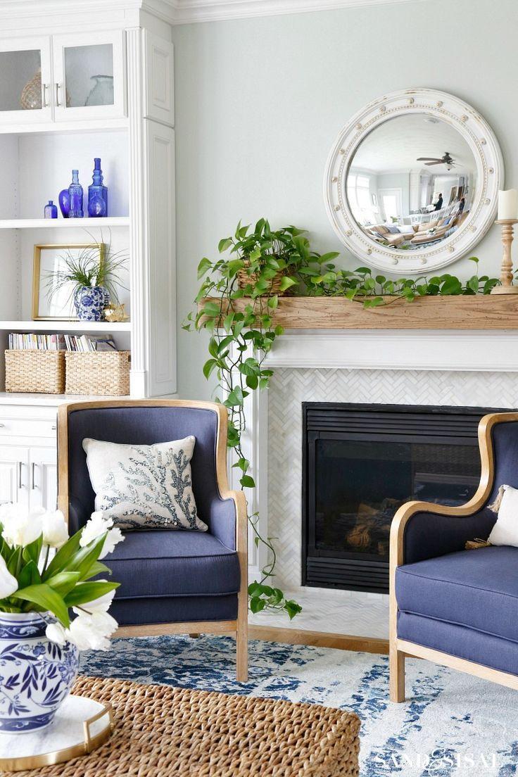Blue White Greys And Beige Living Room Color Scheme Beige