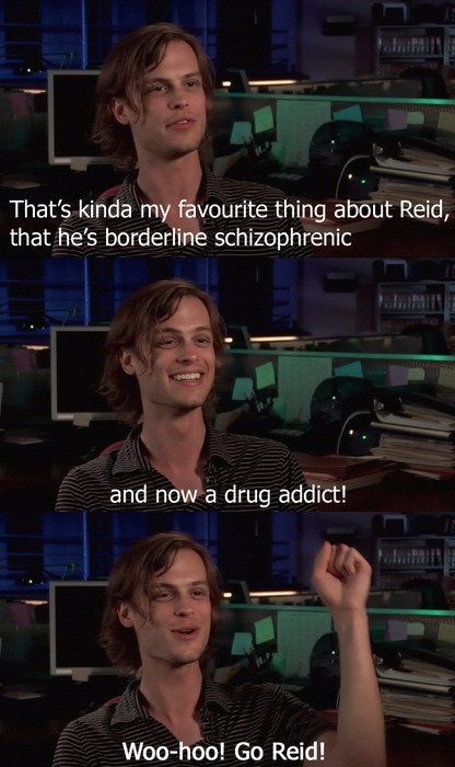 Matthew Gray Gubler talking about Dr. Spencer Reid, his character in Criminal Minds