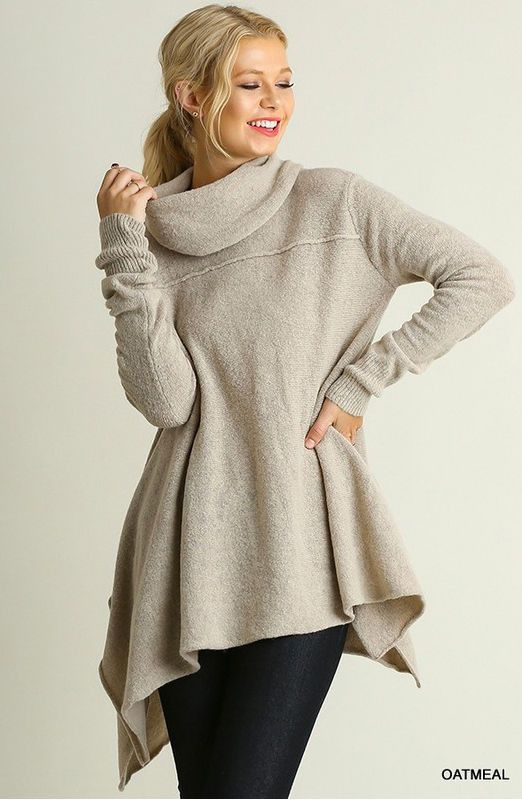 Cozy Days Tunic Sweater // More Color Options