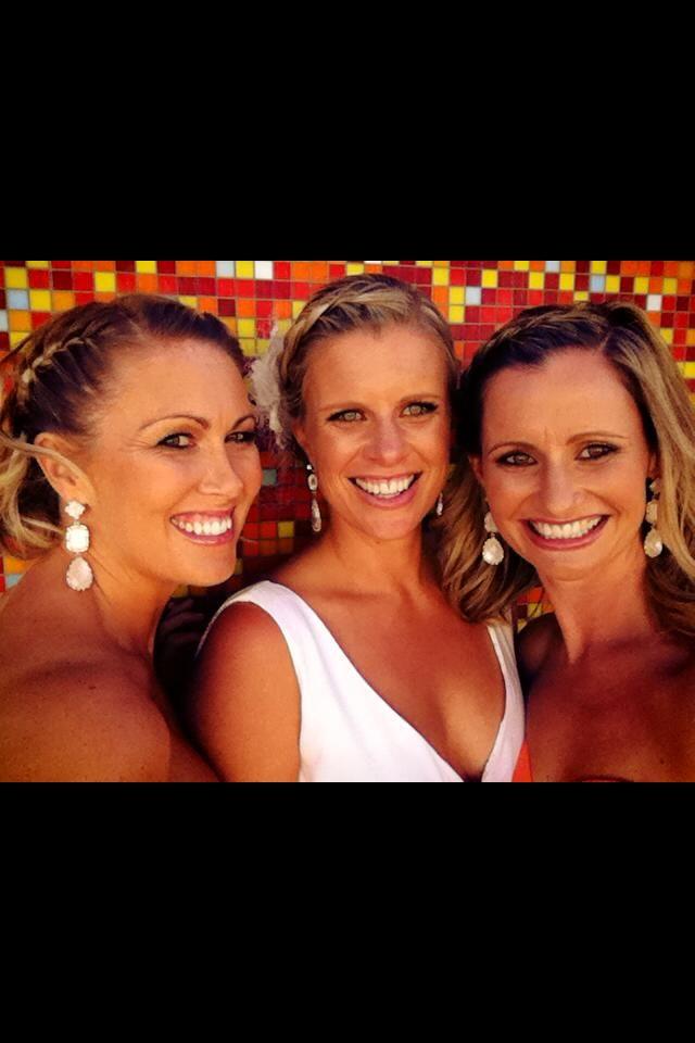 Stunning bridesmaids hair by Subi.hairdressing Perth WA