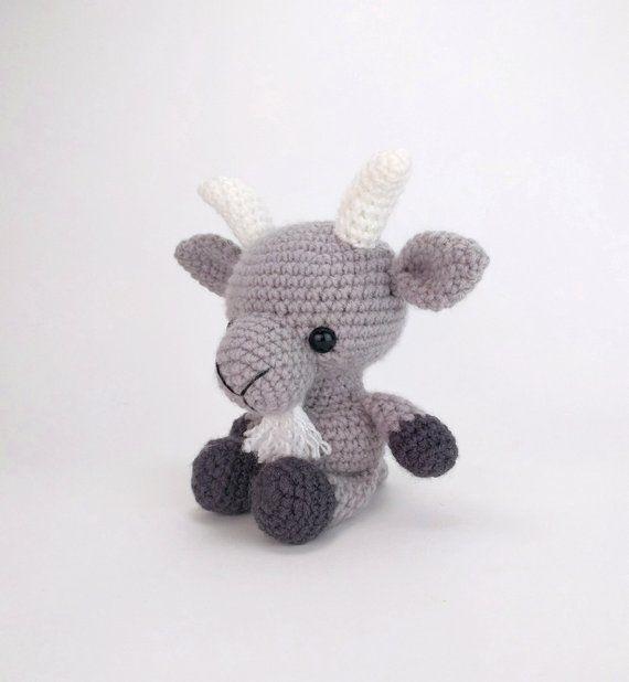 Baby Knitting Patterns Becky the little goat amigurumi pattern...   618x570