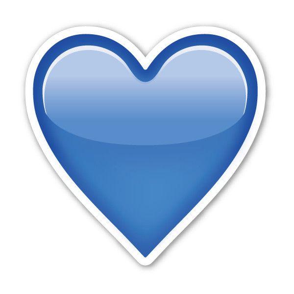Best 25+ Blue heart emoji ideas on Pinterest | White heart ...