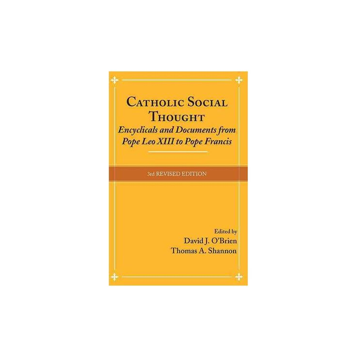Catholic Social Thought : Encyclicals and Documents from Pope Leo Xiii to Pope Francis (Paperback)