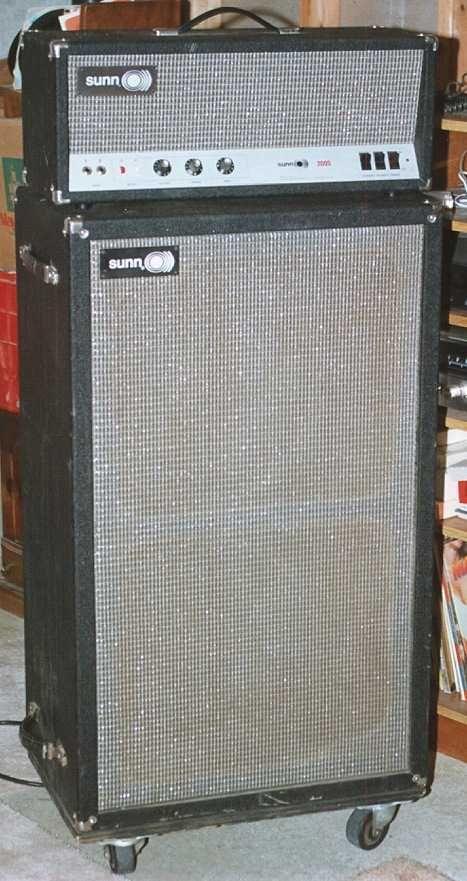 GGJaguar's Guitarium and Ampeteria 1969 Sunn 200S Bass Amp