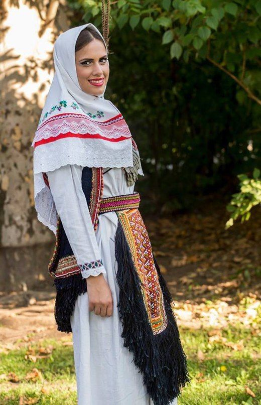 сербский народный костюм
