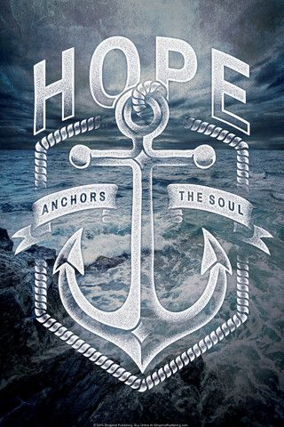 Hope Anchors - Christian Posters