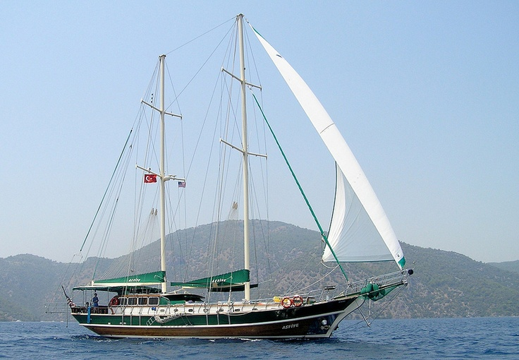 Welcome Aboard Your Yacht, Asfiye in Turkey