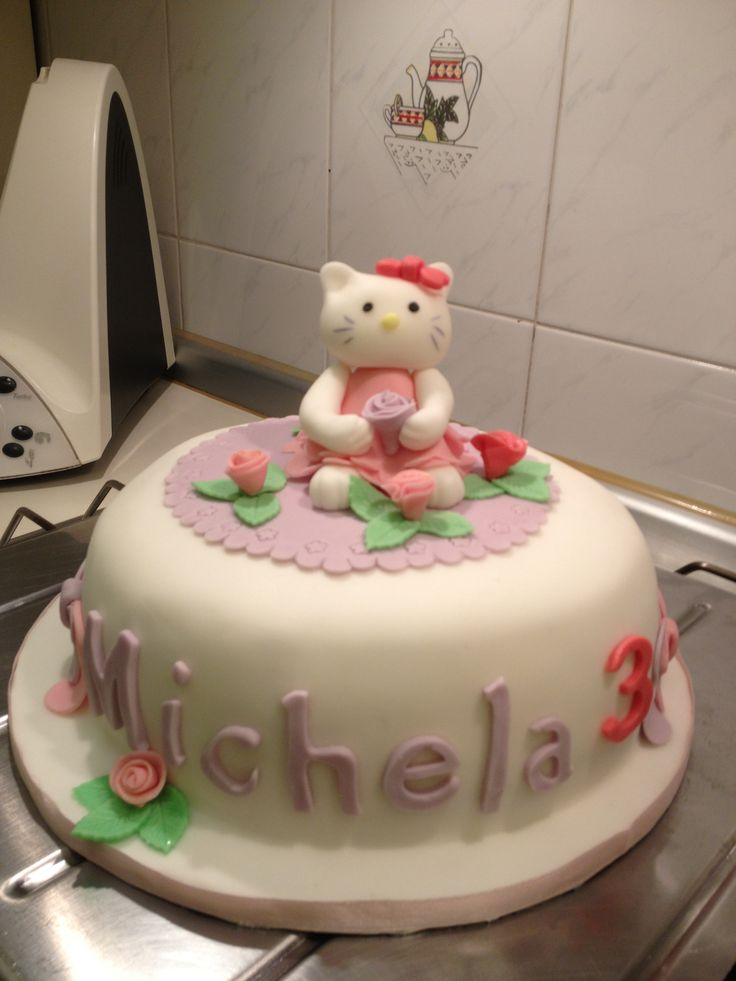 Hello Kitty torta compleanno