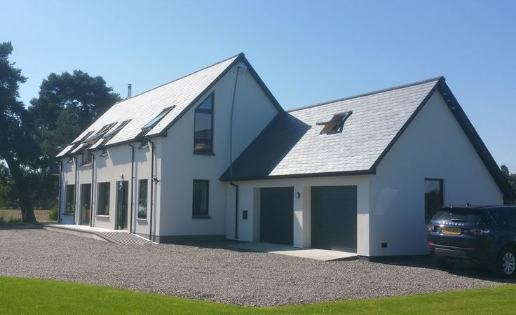 Hemsec SIPs used on a residential project in the Black Isle, Scotland.