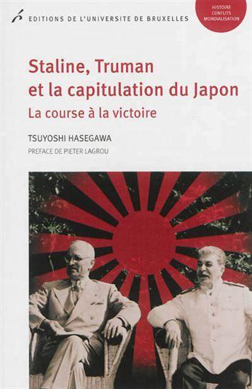 L'auteur s'appuie sur les archives russes, américaines et japonaises pour rétablir la vérité sur la guerre du Pacifique, loin des mythes qui furent véhiculés. Il étudie ainsi les relations triangulaires entre le Japon, les Etats-Unis et l'URSS pour savoir si le bombardement d'Hiroshima était réellement inéluctable pour obtenir la capitulation des forces nippones.