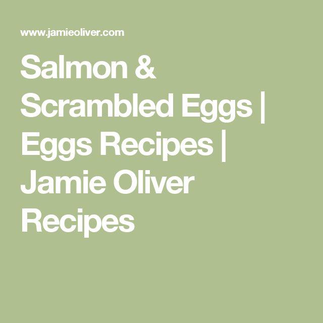Salmon & Scrambled Eggs | Eggs Recipes | Jamie Oliver Recipes