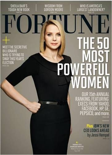 Yahoo CEO Marissa Mayer's 'Fortune' Cover Is a Big Diss to Motherhood