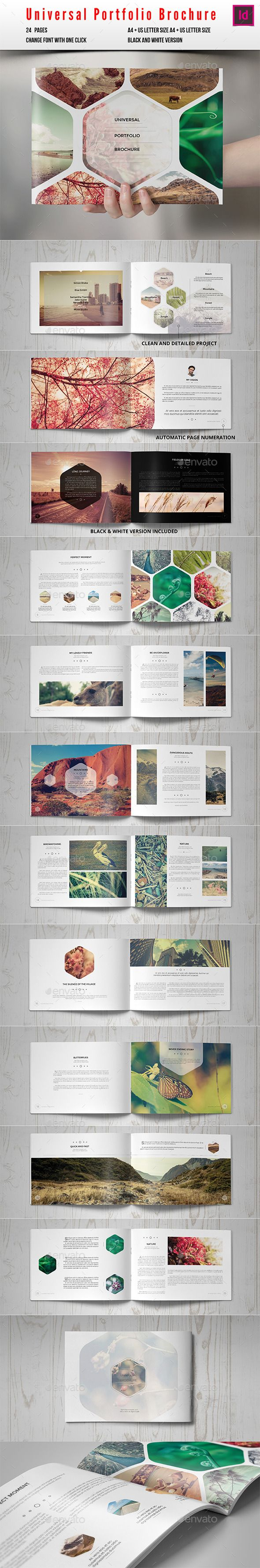 Beautiful design, balance of pictures, geometric motif, colors. A really cool brochure
