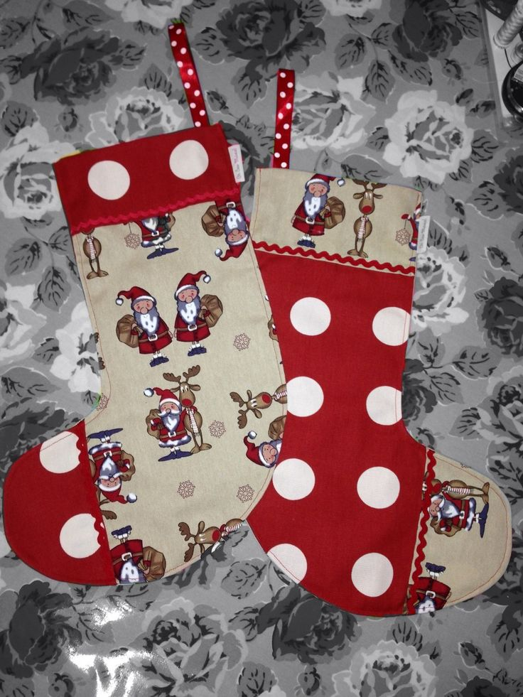 Christmas stockings by Oh Sew Maeve   https://www.facebook.com/pages/Oh-Sew-Maeve/1410531509175788?ref=hl
