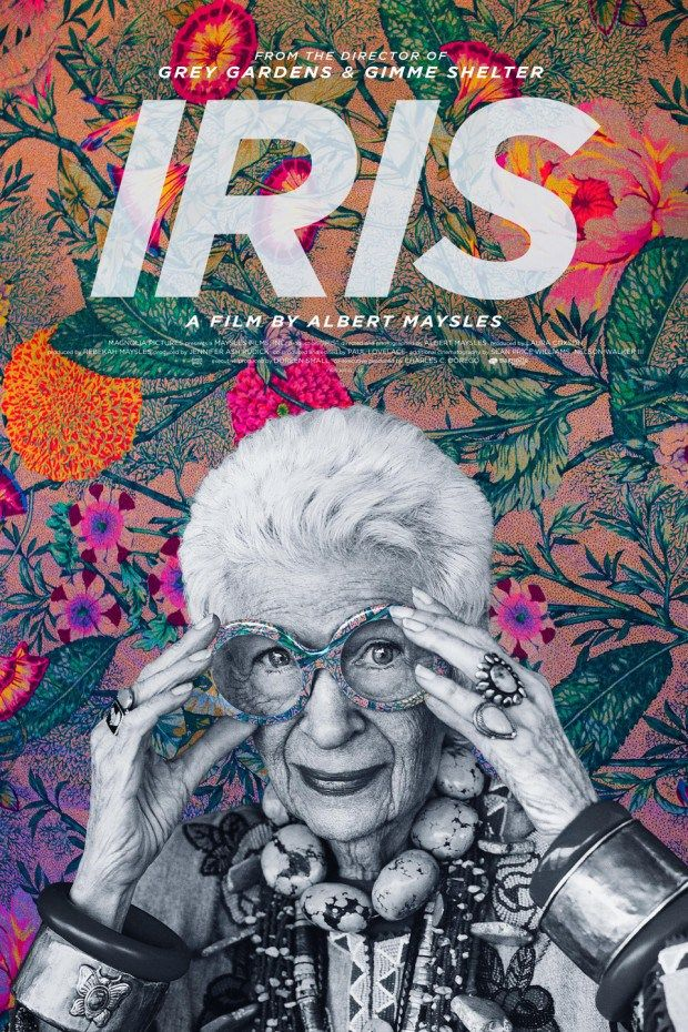 """When Iris Apfel was a young woman from Queens, New York, starting out in the fashion industry, Frieda Loehmann, founder of the famed department store, took her aside: """"She said, 'You're not pretty and you'll never be pretty, but it doesn't matter. You have something much better. You have style.' """"  Apfel, now 93 and a certifiable icon, is the subject of Iris, a new documentary, out next month, by Albert Maysls.    This """"rare bird of fashion,"""" as she is now known."""