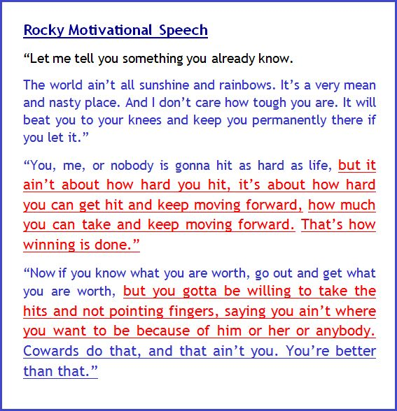 The Best Motivational Speeches